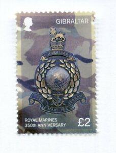Gibraltar - Royal Marines 350th Anniversary - 2014 - MNH