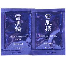 Kose Japan SEKKISEI Clear Whitening Mask (12ml/0.4 fl.oz.) Trial Black Peel-off