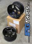 Lenso VPD Black Drag Autocross Race Wheels 13x7.5 4x100 Civic Integra Miata Rims