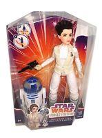 STAR WARS FORCES OF DESTINY PRINCESS LEIA ORGANA & R2-D2 ACTION FIGURE