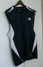 Adidas Navy Blue Sleeveless ClimaLite Tennis Gym Shirt Xl