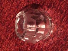 Damas/Niñas-Transparente Facetado Anillo de forma de cúpula de acrílico (100)