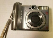 Canon PowerShot A530 Silver PC1184 With Optical Zoom & View Finder