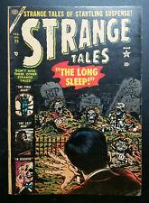 SCARCE ~ Strange Tales #25 (1954) Atlas Comics VG / VG +