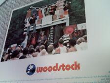 WOODSTOCK RARE 1970 U.S. 11x14 LOBBY CARD #6 MINT 1960s MUSIC HTF ORIG AMERICAN!