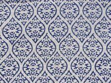 Indigo Cotto Hand Block Print Fabric Natural Dyes Sanganer Indian 5 Yard MYD HJ3