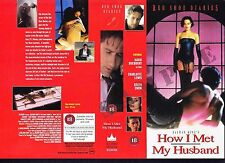 How I Met My Husband, Red Shoe Diaries Video Promo Sample Sleeve/Cover #15696