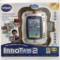 VTech InnoTab 2 Wi-Fi Learning App Tablet With Read Play Create Stylus Game NEW