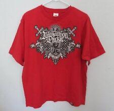 Williamson Dickie Work Wear Legends red short sleeve graphic t-shirt *Sz L*