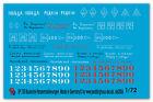 PEDDINGHAUS 1/72 0720 RUSSA marcature veicolo