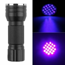UV Ultra Violet 21 LED Flashlight Mini Blacklight Aluminum Torch Light Lamp Hot