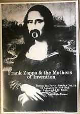 Frank Zappa & The Mothers Of Invention Poster 24 x 33
