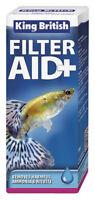 King British Filter Aid Plus Removes Harmful Ammonia & Nitrite 100ml