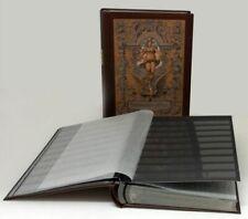 Prophila Album Nostalgique pour Timbres avec 60 Pages - Intérieur Noir (410/550)