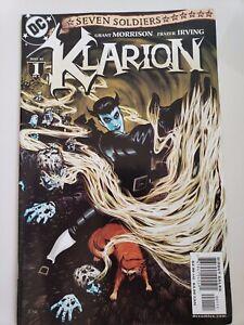 SEVEN SOLDIERS: KLARION #1-4 (2005) DC COMICS FULL COMPLETE SET! GRANT MORRISON