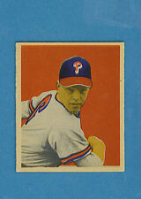 1949 Bowman Baseball Single: #46 Robin Roberts (EM)
