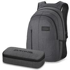 DAKINE SET Schulrucksack Laptop Rucksack FOUNDATION 26l + SCHOOL CASE Mäppchen