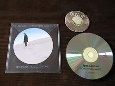 PROMO CD Jens Lekman I Know What Love Isn't UK 2012