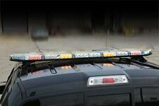 """BUYERS 8893060 LED 60"""" Programmable Safety Amber Traffic Arrow Light Bar NEW"""