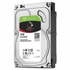 "Seagate IronWolf 3 TB 3.5"" Internal Hard Drive ST3000VN007 NAS 64MB BRAND NEW!!!"