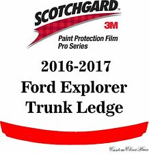 3M Scotchgard Paint Protection Film Pro Series Pre-Cut 2016 2017 Ford Explorer