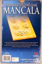 2004 Cardinal Mancala Game.  Solid Wood Folding Game.  New Sealed. NIB