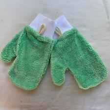 Rubbermaid Hygen Microfiber Dusting Glove Mitt Q652 Lot Of 2