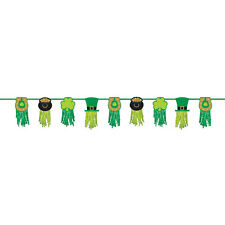 St Patricks Day Party Tissue Garland