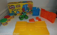 Play Doh Bob the Builder Playset with Bob, Pilchard & Wendy molds & Roley w/ Box