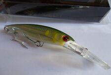 Noeby leurre traine Minnow 14cm 44g nage 0 à 7m couleur Merlan