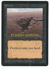 Sinkhole Magic beta black bordered scansione originale 15l209