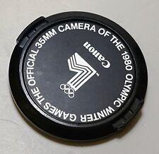 Original Canon 1980 Winter Olympic Games 52mm Camera Lens Cap