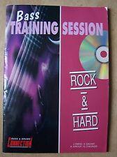 #) méthode BASS TRAINING SESSION rock & hard avec CD