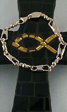 ACTS Bracelet Emmaus 14k Gold Fishers of men Bracelet 7.5'' SOLID YELLOW GOLD!