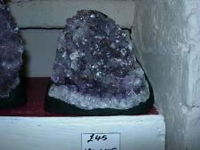 Amethyst geode flat based specimen sp 02