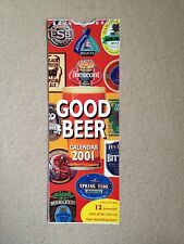 GOOD BEER Calendar 2001