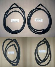 Weatherstrip Complete rubber Seal Set fit 69-72 Toyota Hilux RN10 Pickup