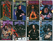 Undertaker Ultimate Comic Lot w/ Dynamic Forces Ltd to 500 Deathchrome Cover 1