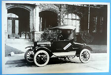 """12 By 18"""" Black & White Picture 1923 Ford Model T Roadster Side View"""