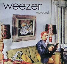 Weezer 2002 Maladroit Tour Promo Poster