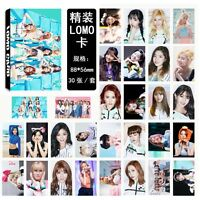 30pcs set Kpop TWICE Collective Personal Photo Picture Poster Lomo Card