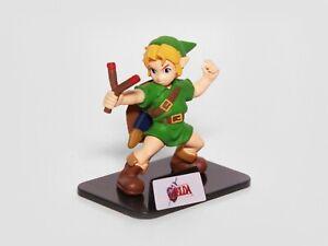 YOUNG LINK - Zelda Ocarina of Time - 2011 TOMY Gashapon Figure - ASSORTED