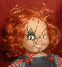 """HAUNTED Big 26"""" Chucky Doll """"EYES FOLLOW YOU"""" OOAK Creepy Halloween prop"""
