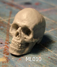 "ML010 Skull Custom Cast dio/display piece use with 6"" ML Legends action figures"