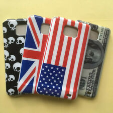 For Samsung Galaxy S2 I9100 I9103 Flag Print Gloss hard case Snap On back cover