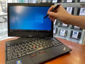 pc portable Lenovo X220 Tablet pc  I7-2640M 2.8ghz 4Go 160Go SSD 12.5 HD  Win 10