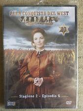Alla conquista del West numero 10 - Stagione 2 Episodio 6 - DVD nuovo sigillato