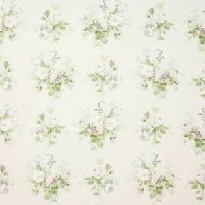 Colefax and Fowler Constance Grey/ Green Fabric **2m PIECE**