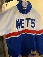 Mitchell & Ness Nets Inspired Track Jacket Brooklyn Nets NJ Nets NWT Mens 48 XL