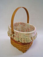 Longaberger 2001 Mothers Day Vintage Blossoms Combo